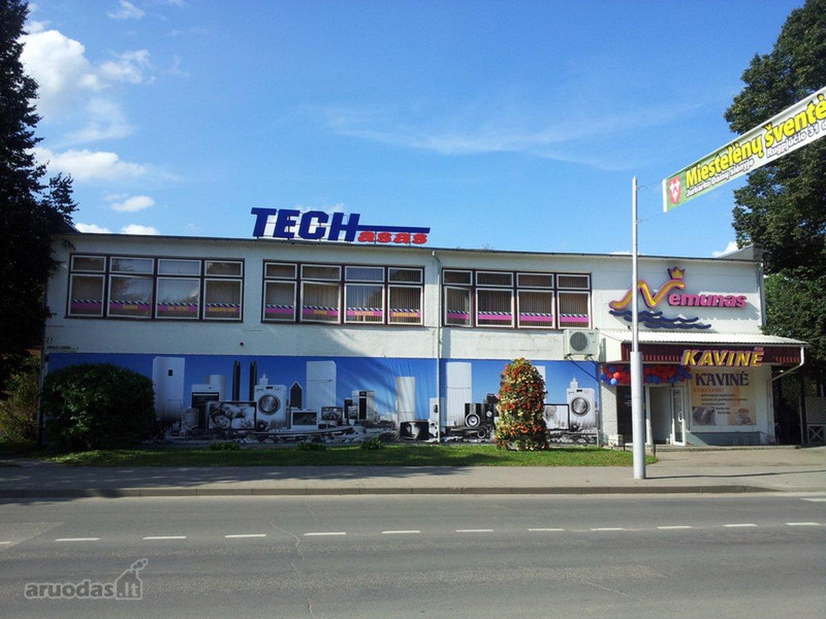 Jurbarko m., Dariaus ir Girėno g., biuro, prekybinės, paslaugų, sandėliavimo, gamybinės, maitinimo, kita paskirties patalpos nuomai