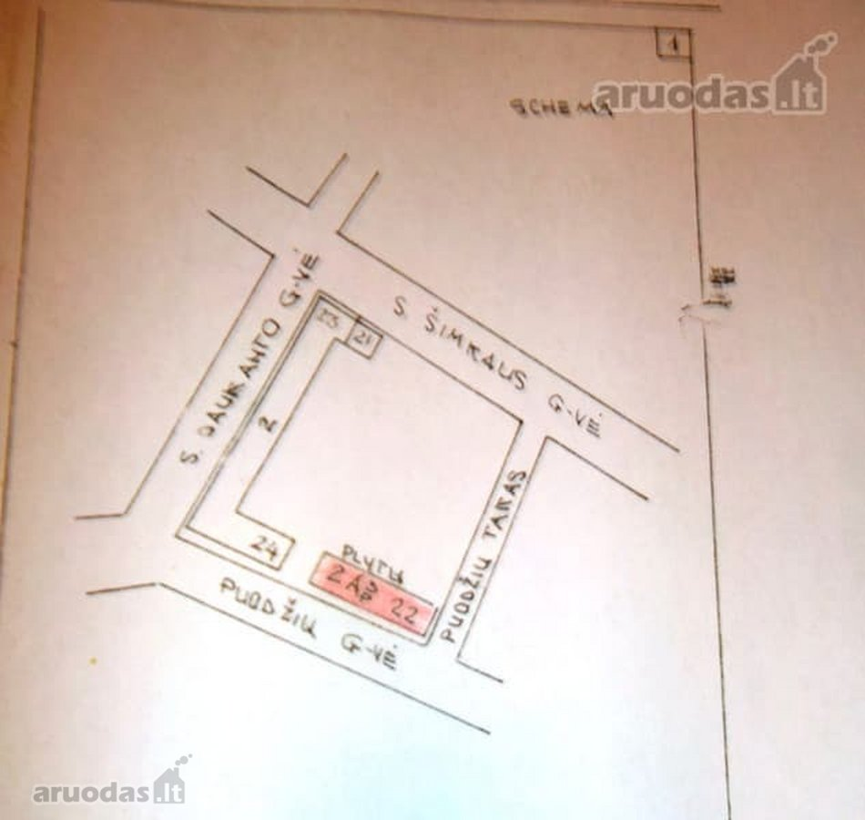 Klaipėda, Senamiestis, Puodžių g., 3 kambarių butas