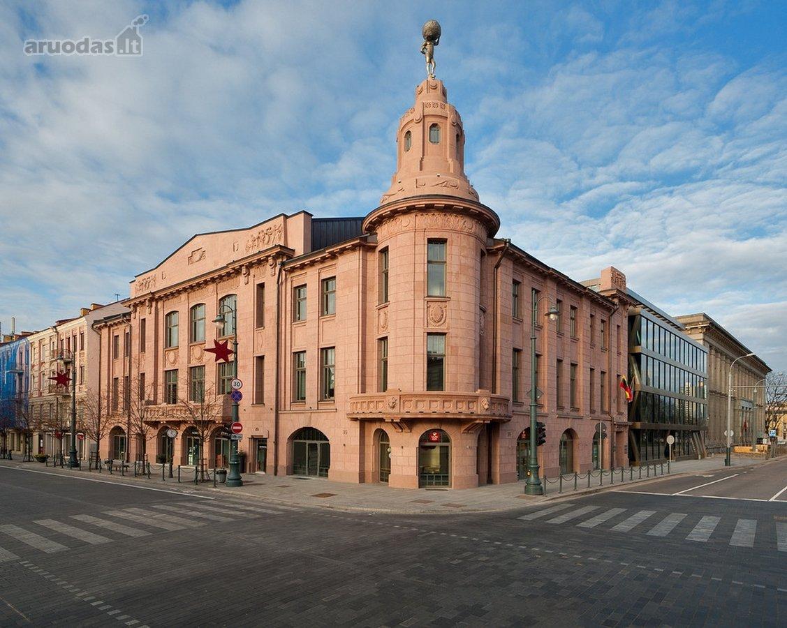 Vilnius, Senamiestis, Gedimino pr., biuro paskirties patalpos nuomai