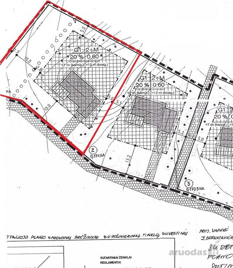 Vilnius, Pilaitė, namų valdos, gyvenamosios statybos paskirties sklypas