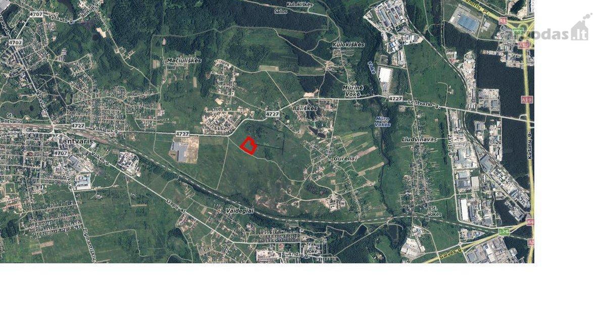 Vilniaus m. sav., Mūrinės Vokės k., namų valdos, daugiabučių statybos, žemės ūkio paskirties sklypas