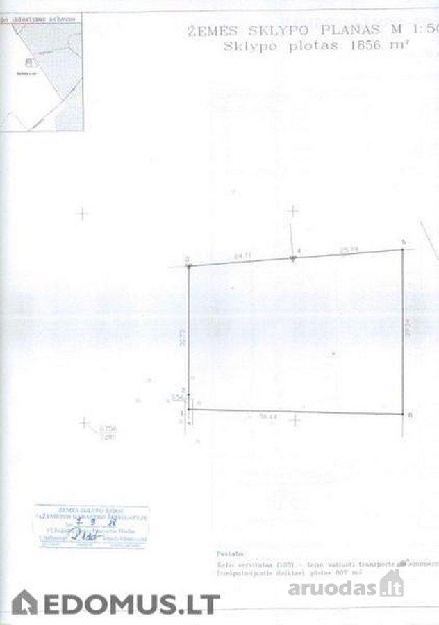 Rokiškio m., Vilties g., komercinės paskirties sklypas