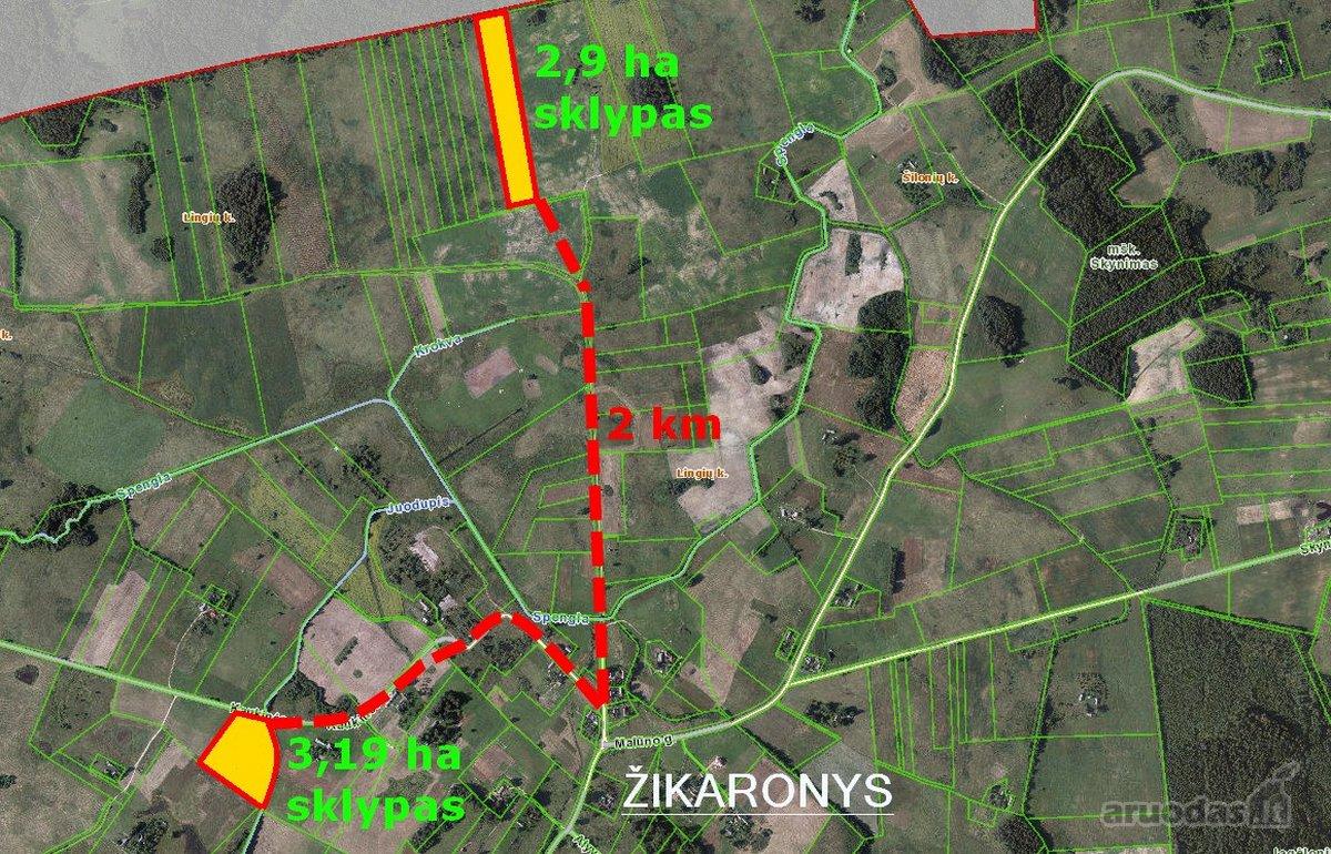 Elektrėnų sav., Lingių k., žemės ūkio paskirties sklypas