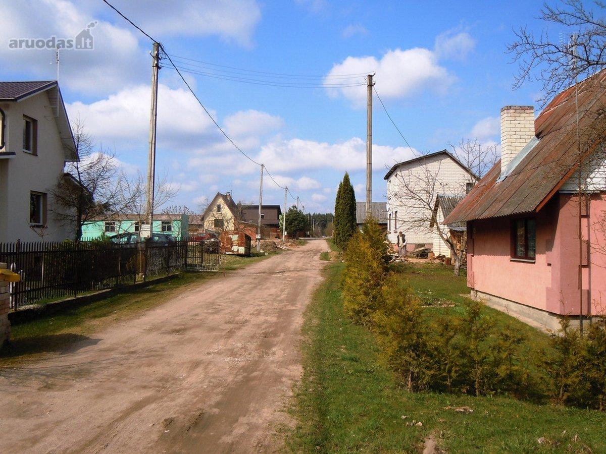 Vilniaus r. sav., Bezdonių k. paskirties sklypas