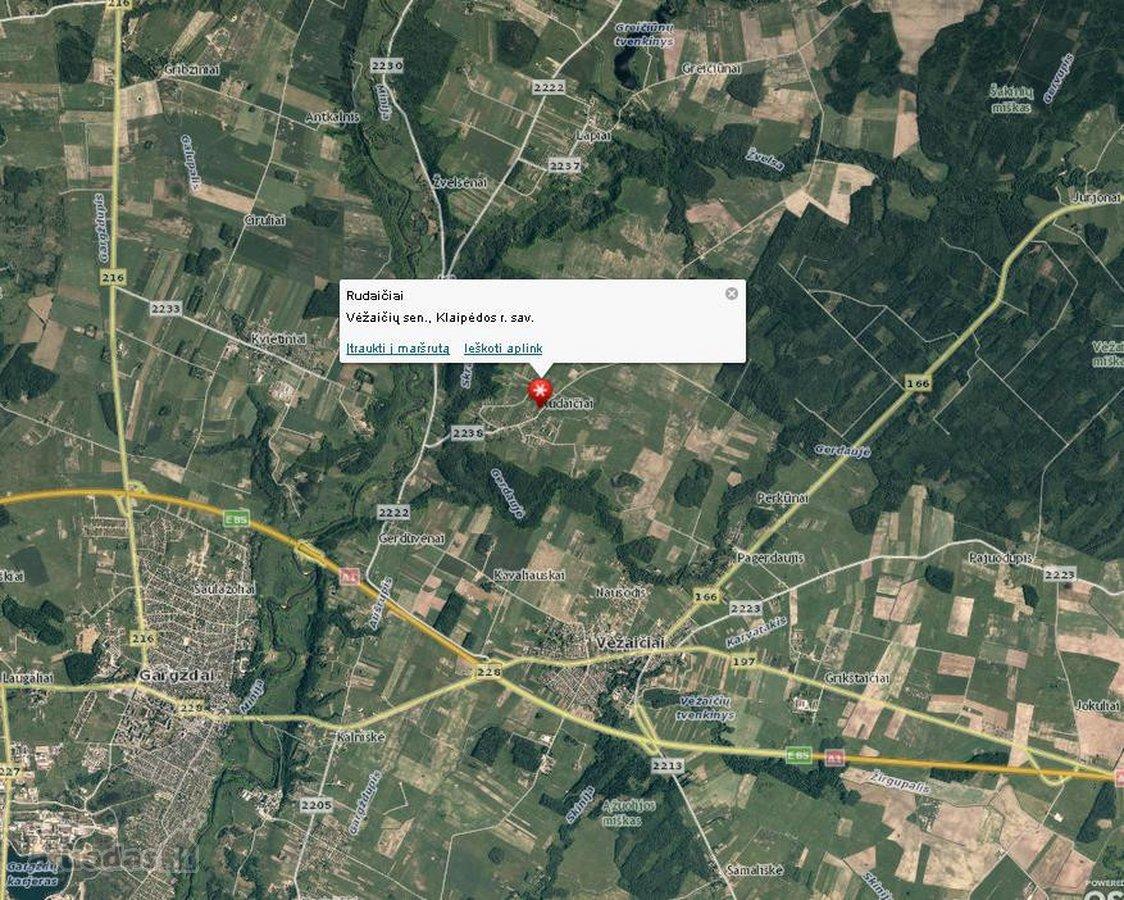 Klaipėdos r. sav., Rudaičių k., žemės ūkio paskirties sklypas
