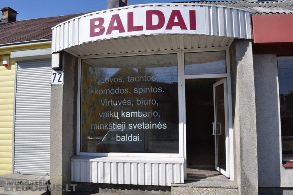 Kaunas, Žaliakalnis, Kapsų g., maitinimo, biuro, prekybinės, kita paskirties patalpos