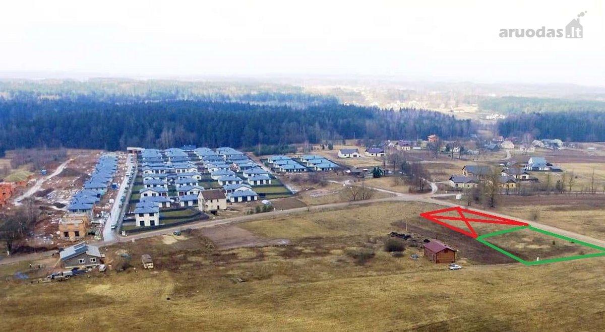 Vilnius, Pilaitė, Buivydiškių g., namų valdos paskirties sklypas