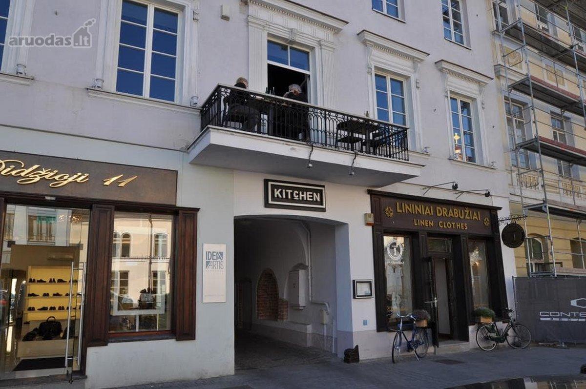 Vilnius, Senamiestis, Didžioji g., biuro, prekybinės, paslaugų, maitinimo, kita paskirties patalpos