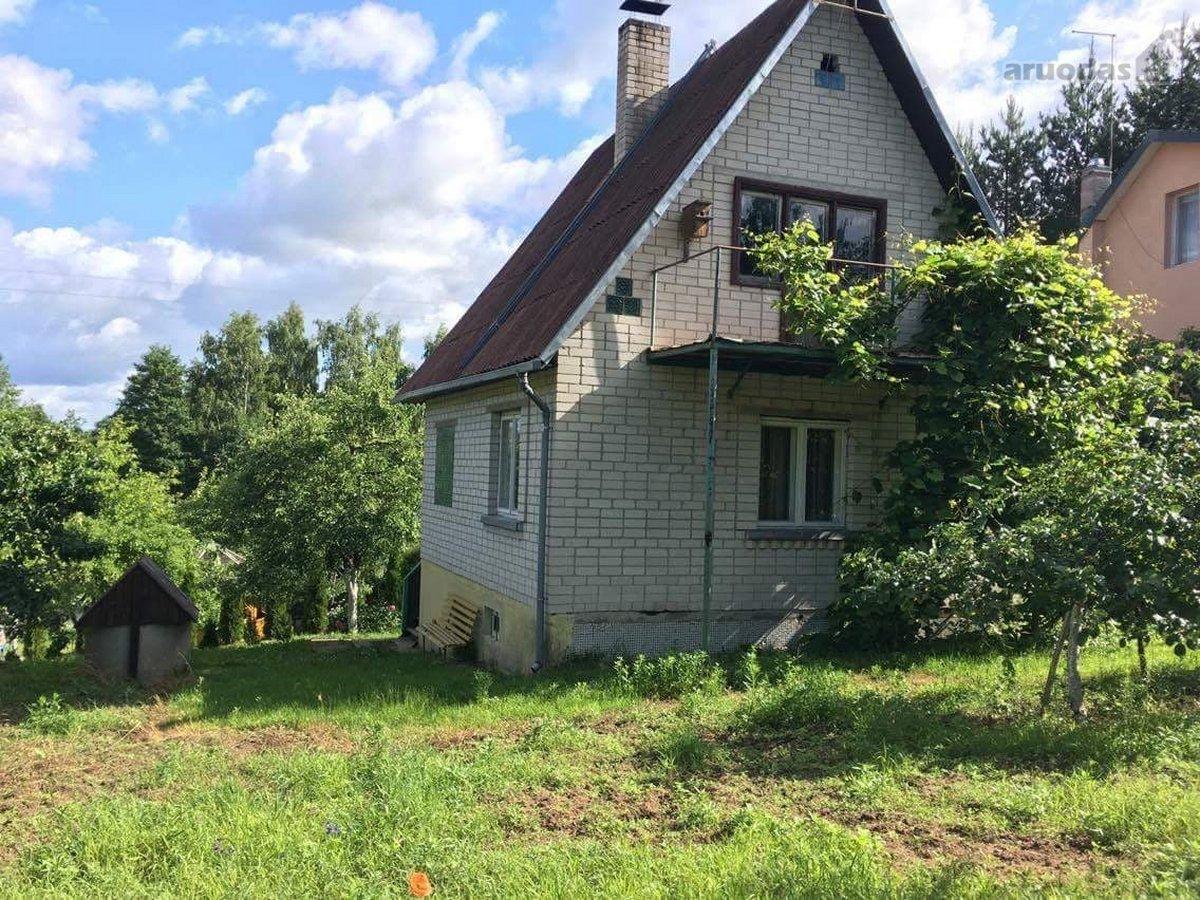 Elektrėnų sav., Girnakalių k., Žalioji g., Кирпичный дачный дом