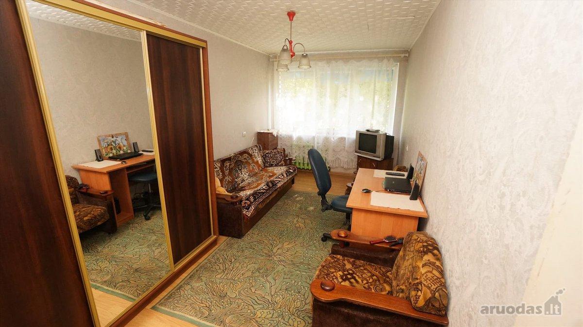 Vilkaviškio r. sav., Kybartų m., Vištyčio g., 3 kambarių butas