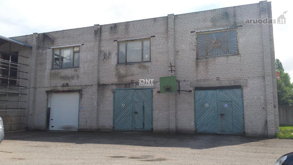 Klaipėda, Mažasis kaimelis, Šviesos g., sandėliavimo, gamybinės paskirties patalpos