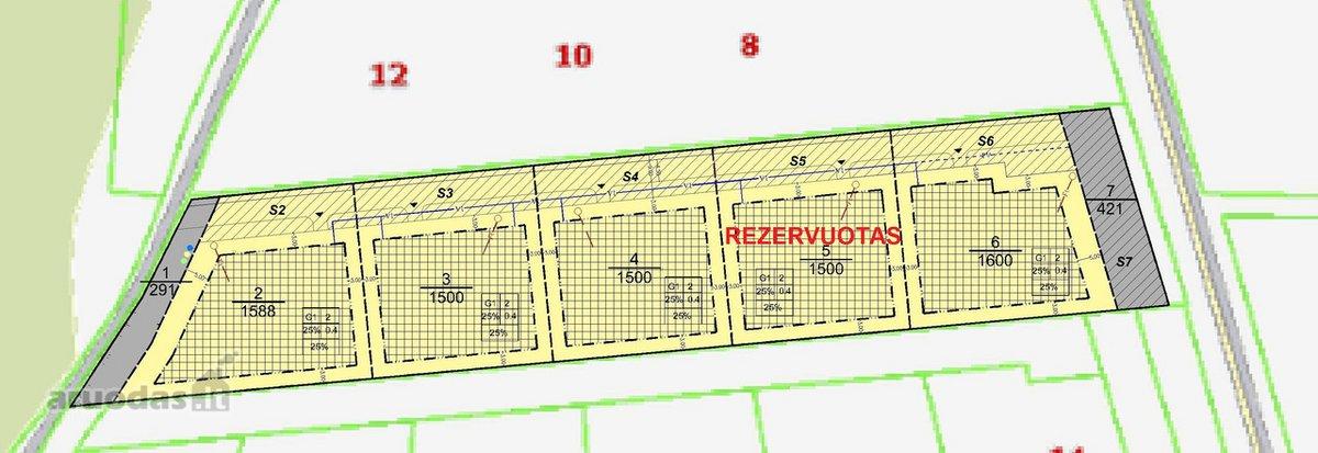 Vilniaus r. sav., Bukiškio k., Liepų g., namų valdos paskirties sklypas