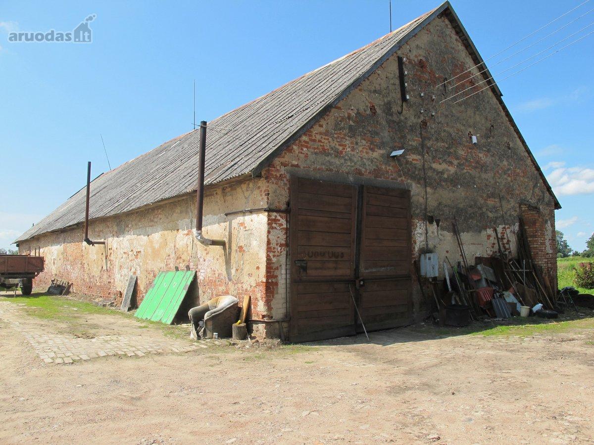 Kazlų Rūdos sav., Antanavo k., Marijampolės g., sandėliavimo, gamybinės paskirties patalpos