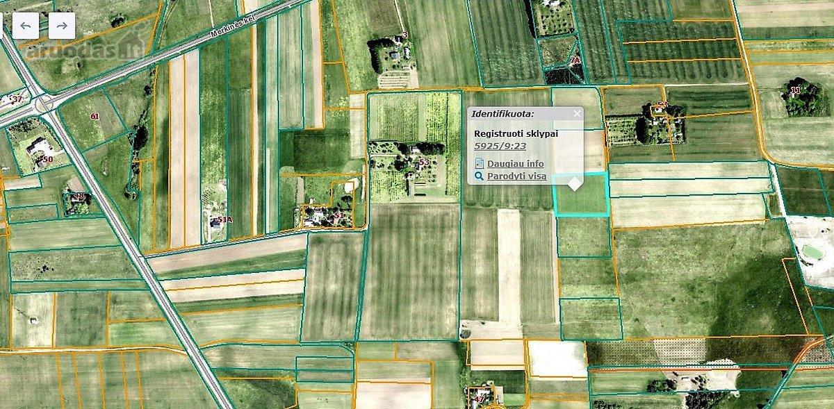 Druskininkų sav., Leipalingio k., žemės ūkio paskirties sklypas