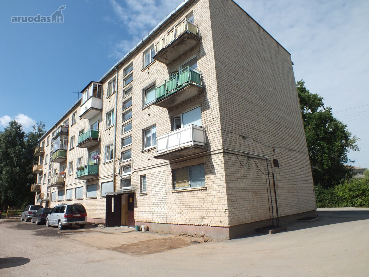 Pasvalio m., Vyšnių g., 2 kambarių butas