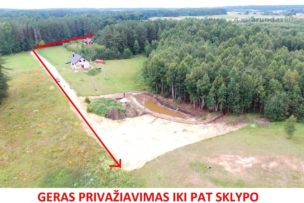 Trakų r. sav., Peleniškių k., Rūko g., namų valdos paskirties sklypas