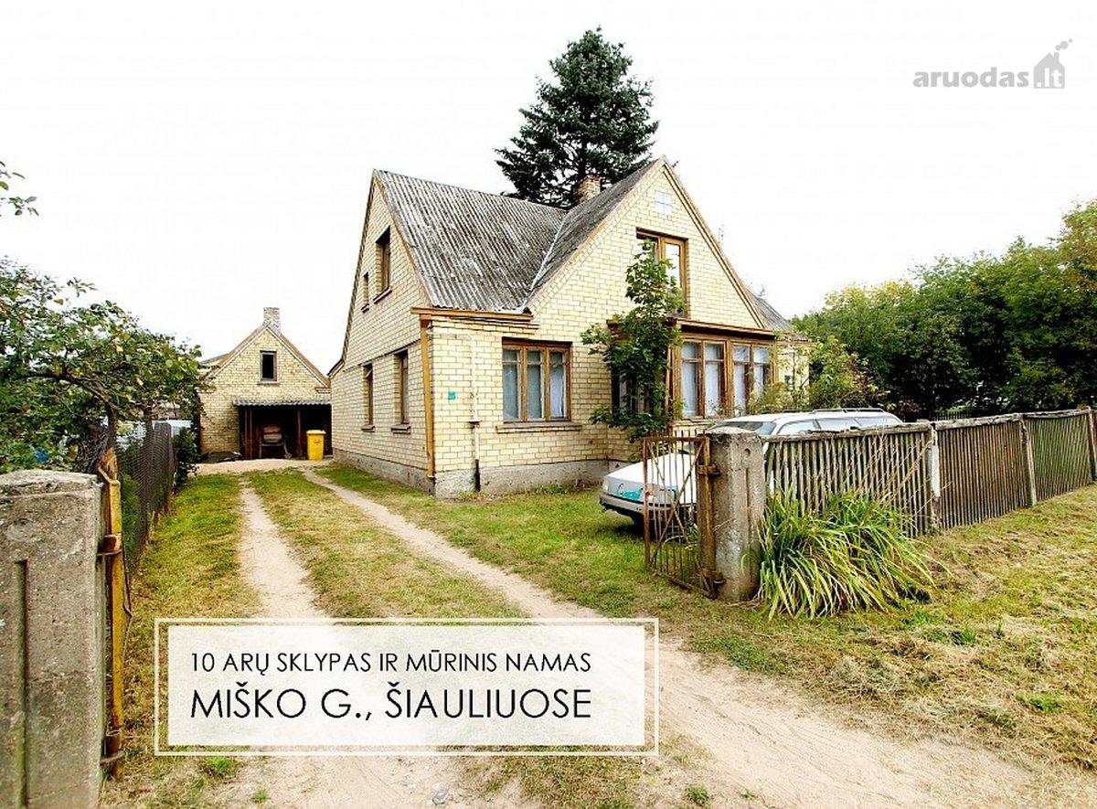 Šiauliai, Centras, Miško g., mūrinis namas