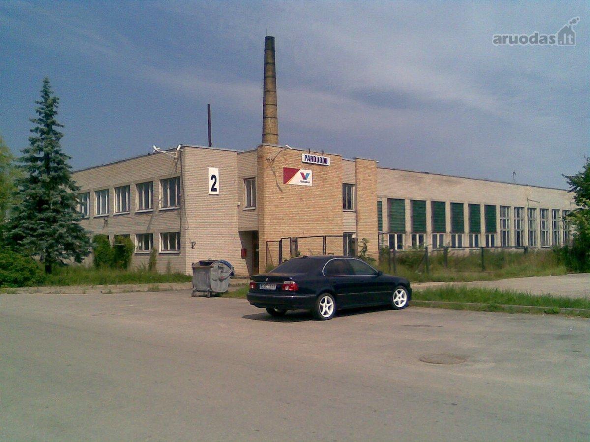 Šiaulių r. sav., Kuršėnų m., Sodo g., biuro, prekybinės, paslaugų, sandėliavimo, gamybinės, maitinimo, kita paskirties patalpos