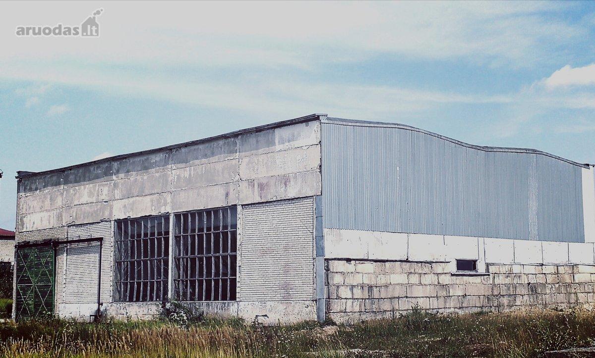 Plungės m., Salantų g., gamybinės paskirties patalpos