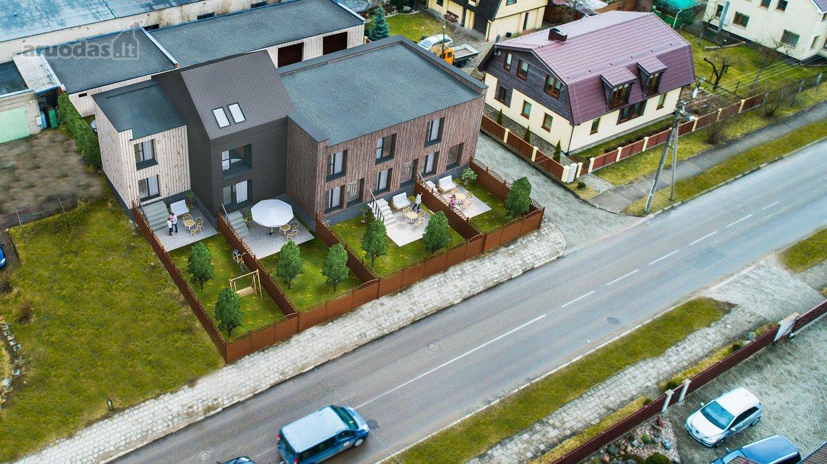 Klaipėdos r. sav., Gargždų m., Žemaitės g., 3 kambarių butas