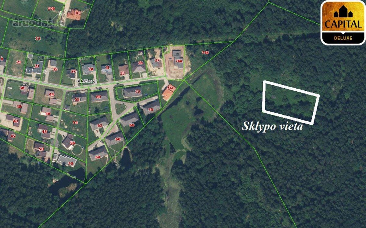 Vilniaus r. sav., Lindiniškių k., namų valdos paskirties sklypas