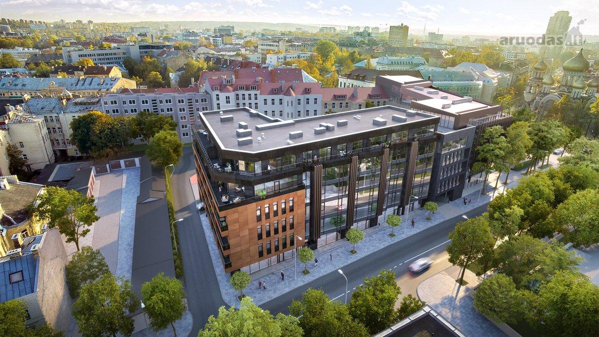 Vilnius, Naujamiestis, K. Kalinausko g., biuro, prekybinės, paslaugų paskirties patalpos nuomai