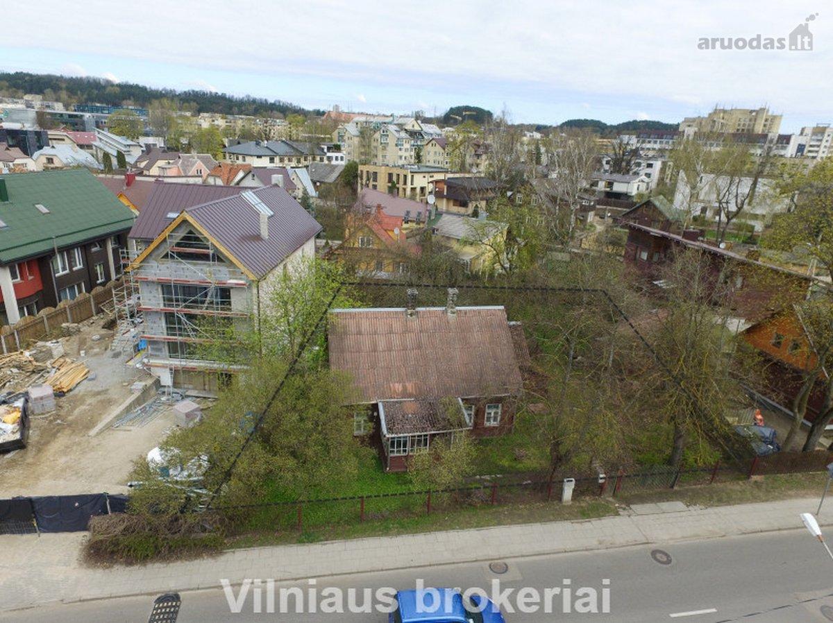 Vilnius, Žvėrynas, Latvių g., namų valdos, kitos paskirties sklypas