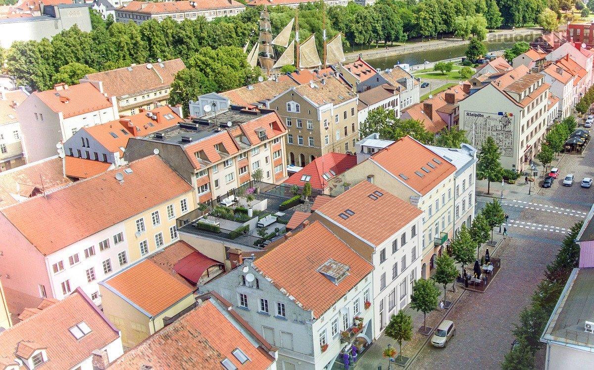 Klaipėda, Senamiestis, Turgaus g., 2 kambarių butas