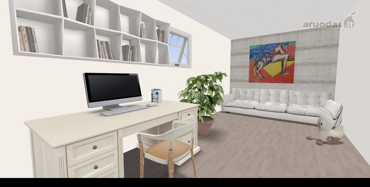 Utenos m., Aukštakalnis, Taikos g., 3 kambarių butas