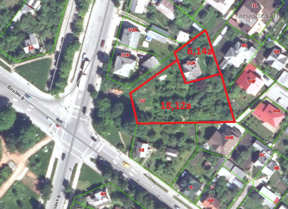 Šiauliai, Centras, J. Basanavičiaus g., namų valdos, daugiabučių statybos paskirties sklypas