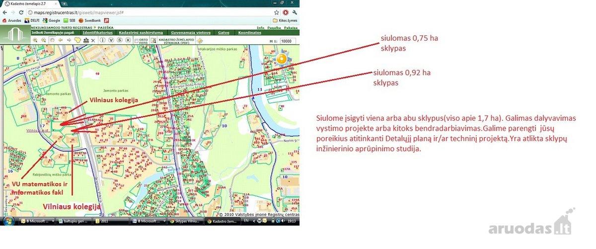 Vilnius, Baltupiai, Didlaukio g., daugiabučių statybos, komercinės, kitos paskirties sklypas