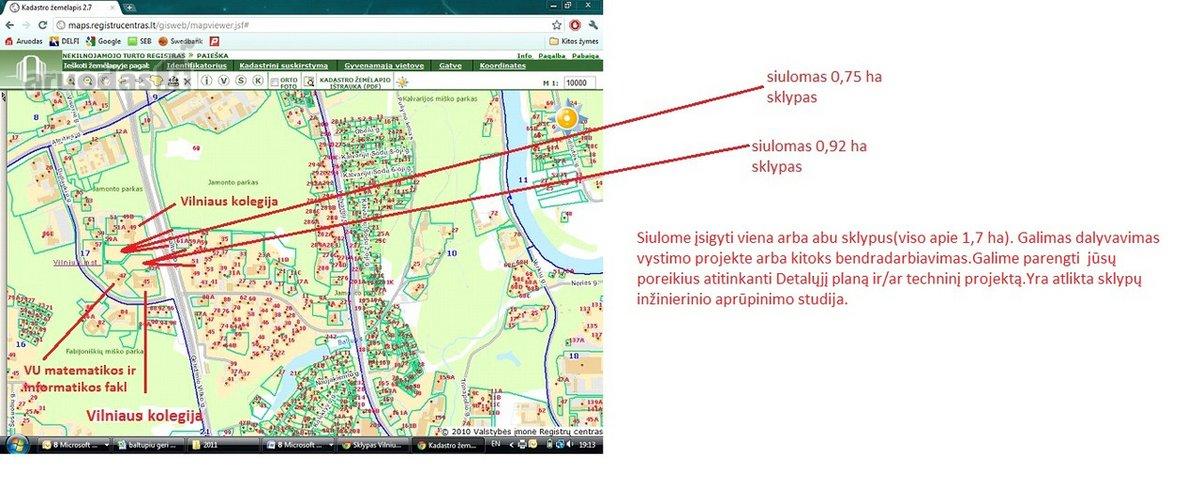 Vilnius, Baltupiai, Didlaukio g., daugiaaukštės statybos, komercinės, Kita paskirties sklypas