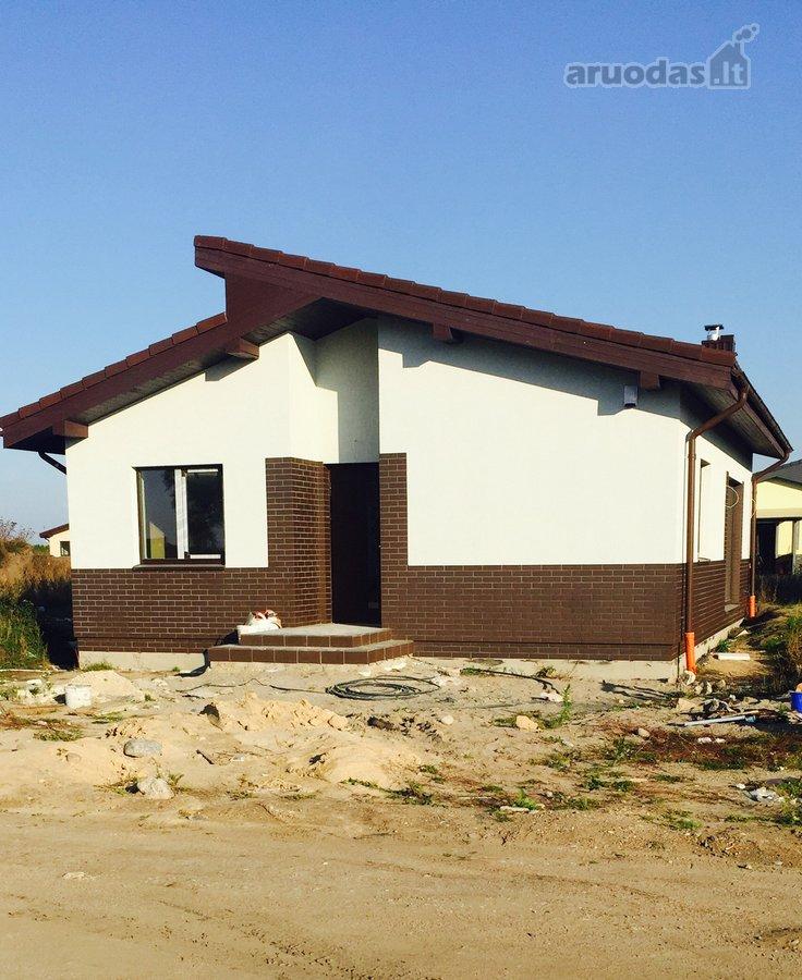 Parduodamas ekonomiškas 80 kv.m namas.