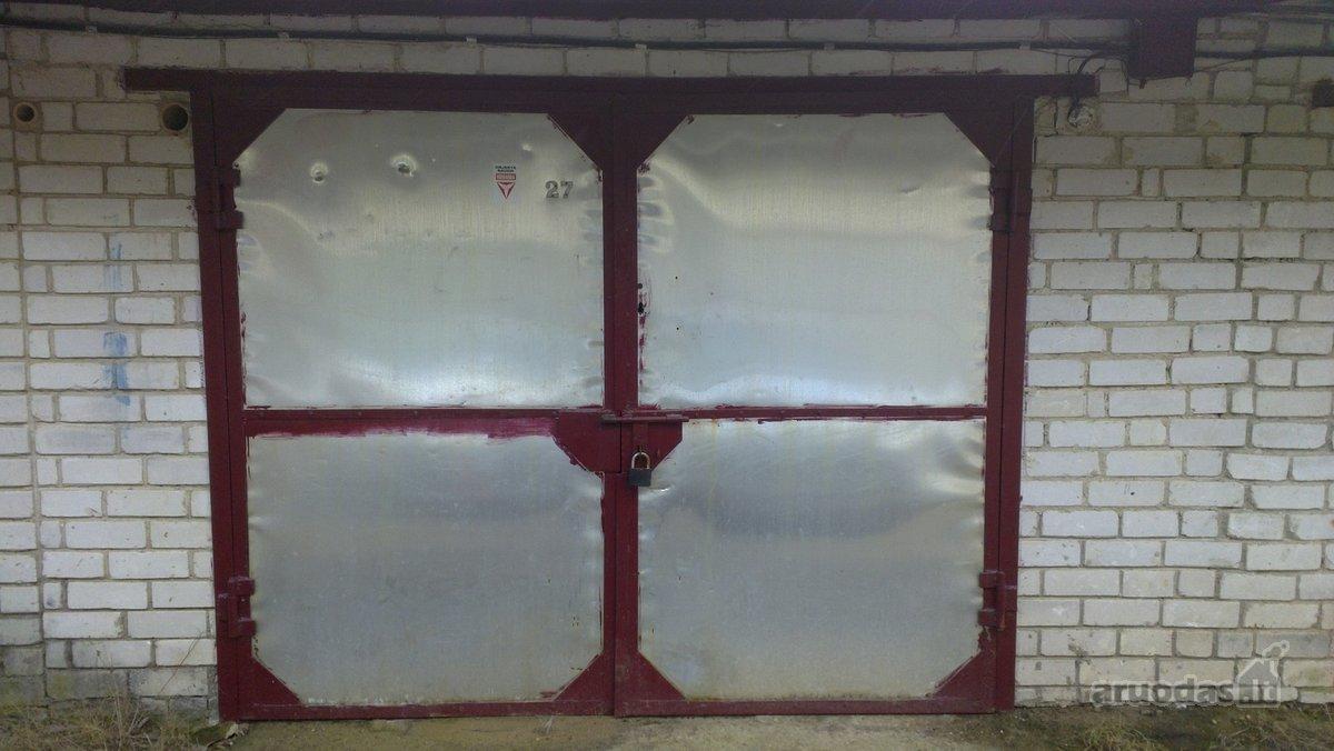 Druskininkų m., M. K. Čiurlionio g., mūrinis garažas