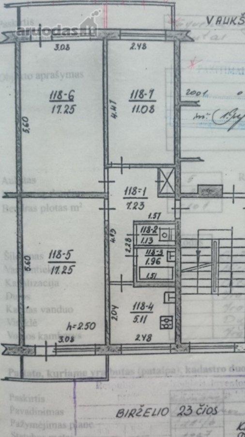 Kaunas, Kalniečiai, Birželio 23-iosios g., 3 kambarių butas