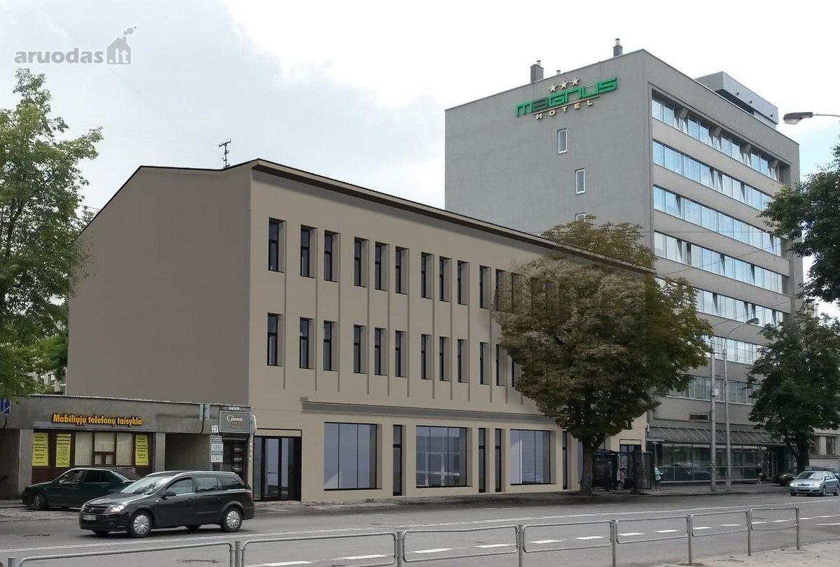 Kaunas, Centras, Vytauto pr., biuro, prekybinės, viešbučių, paslaugų, maitinimo, kita paskirties patalpos nuomai