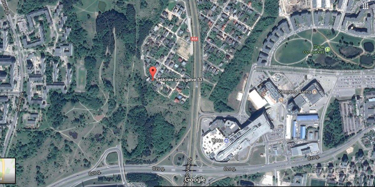Vilnius, Šeškinė, Šeškinės Sodų g., namų valdos, kolektyvinis sodas, kitos sklypas