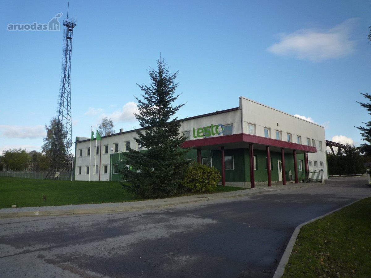 Raseinių m., Jurbarko g., biuro, prekybinės, sandėliavimo, gamybinės paskirties patalpos nuomai