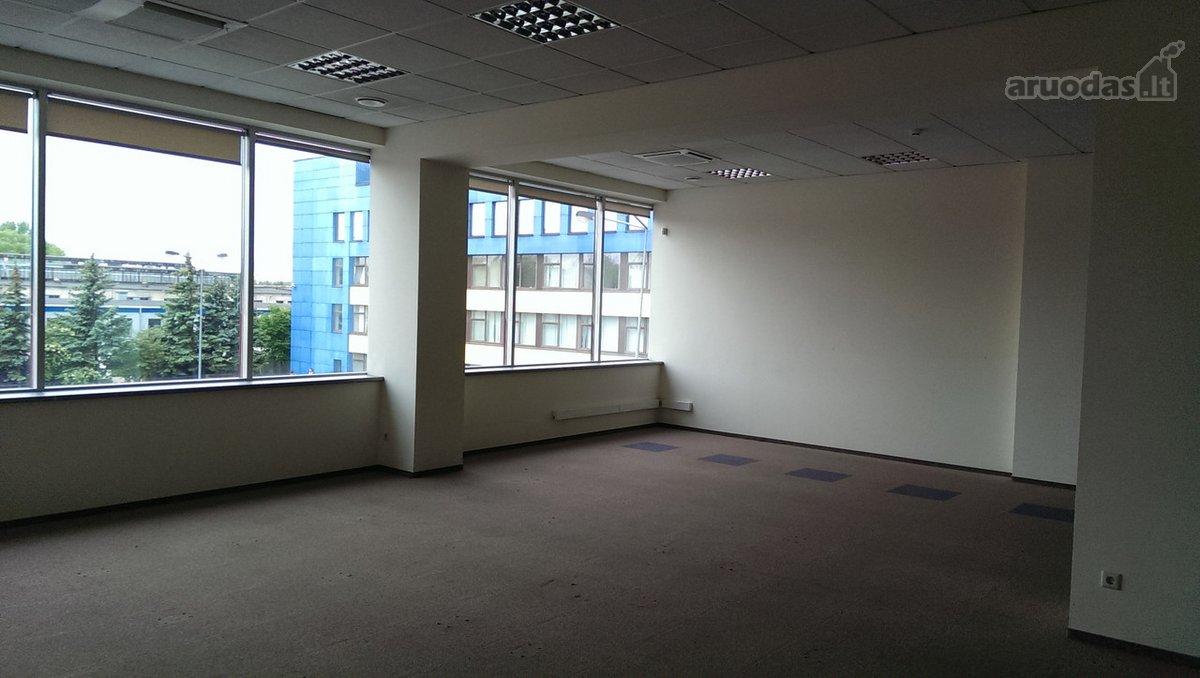 Biuras įrengtas, centrinis šildymas, nemokama