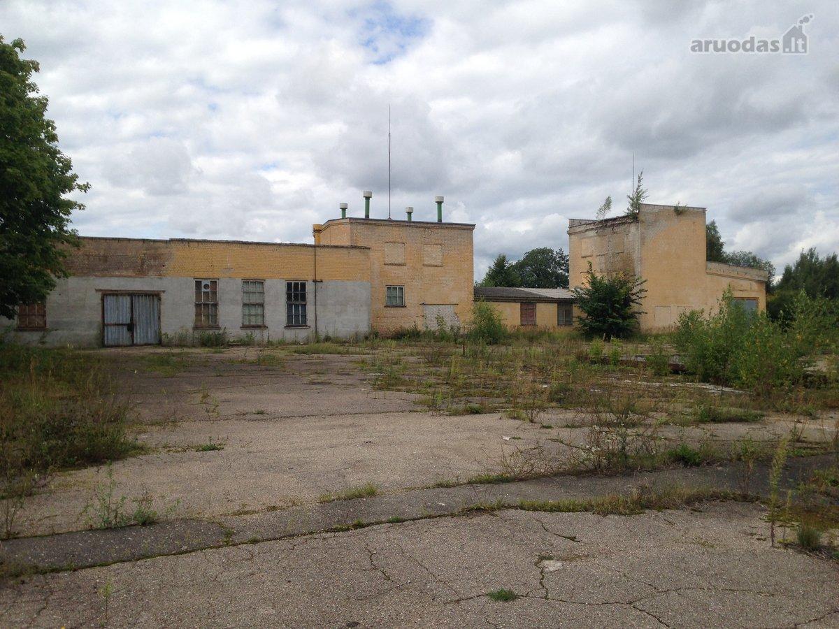 Vilniaus r. sav., Punžonių k., Balinskių g., biuro, sandėliavimo, gamybinės paskirties patalpos