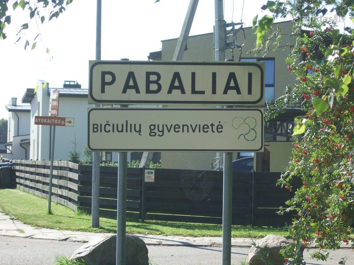 Trakų r. sav., Pabalių k., namų valdos paskirties sklypas