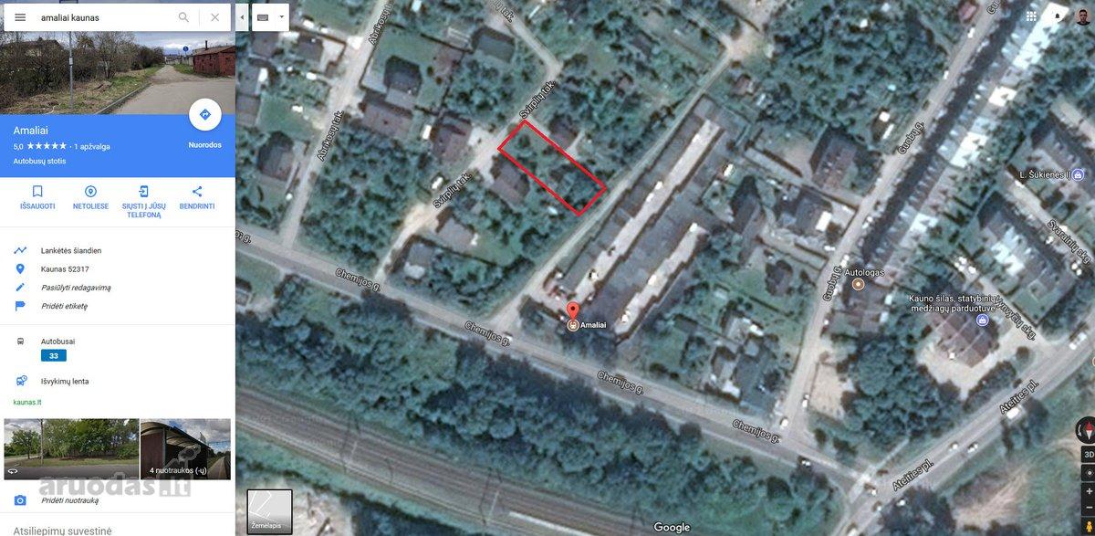 Kaunas, Amaliai, Chemijos g., kolektyvinis sodas sklypas