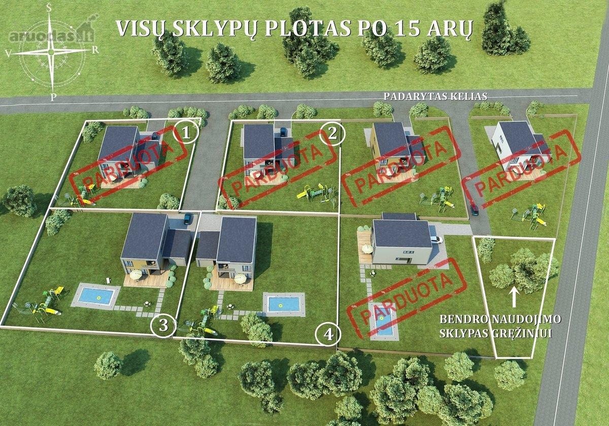 Vilnius, Avižieniai, Pikutiškių g., namų valdos paskirties sklypas