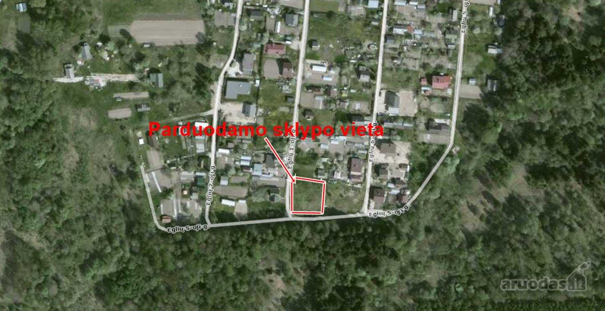 Vilniaus r. sav., Dukelių k., kolektyvinis sodas sklypas