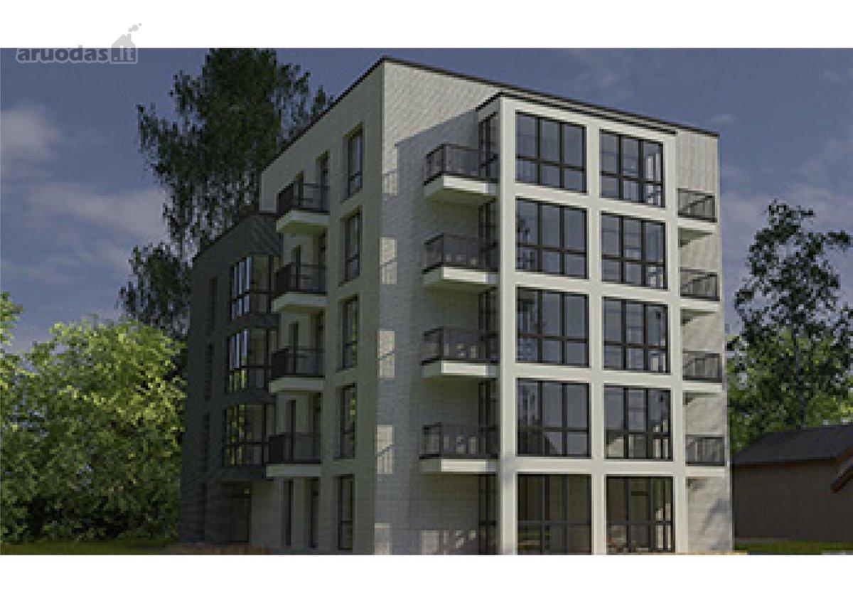 Kaunas, Žaliakalnis, B. Sruogos g., 4 kambarių butas