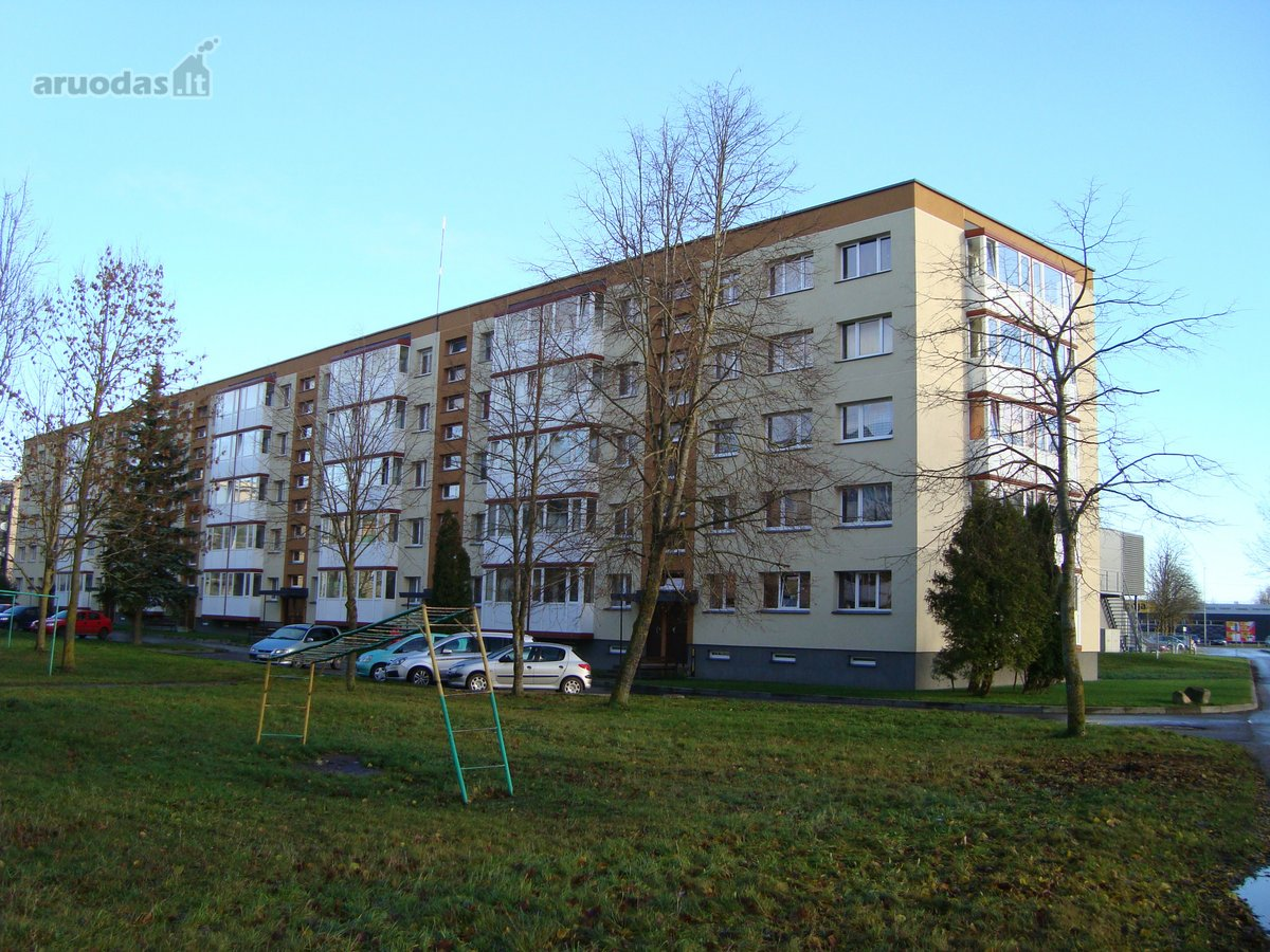 Akmenės r. sav., Naujosios Akmenės m., V. Kudirkos g., 1 kambario butas