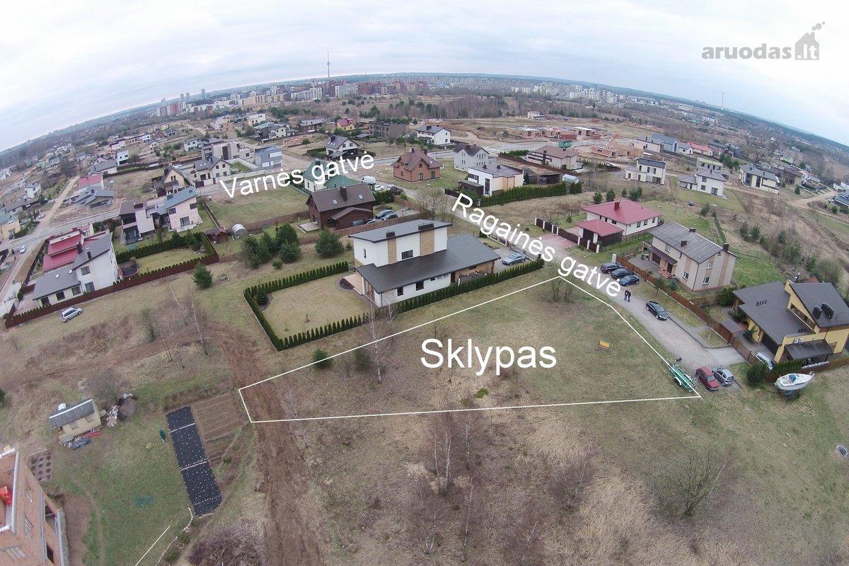 Vilnius, Pilaitė, Ragainės g., namų valdos paskirties sklypas