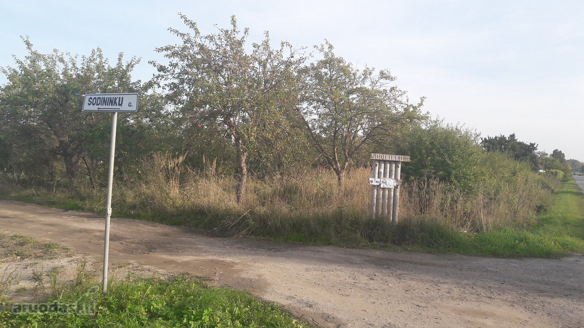Akmenės r. sav., Naujosios Akmenės m., Sodininkų g., namų valdos, kolektyvinis sodas sklypas