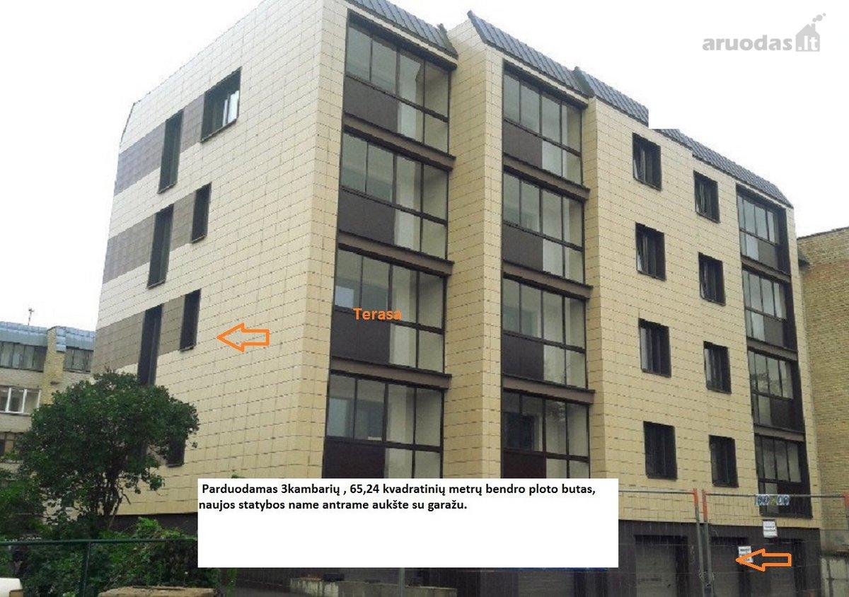 Panevėžys, Centras, Suvalkų g., 3 kambarių butas