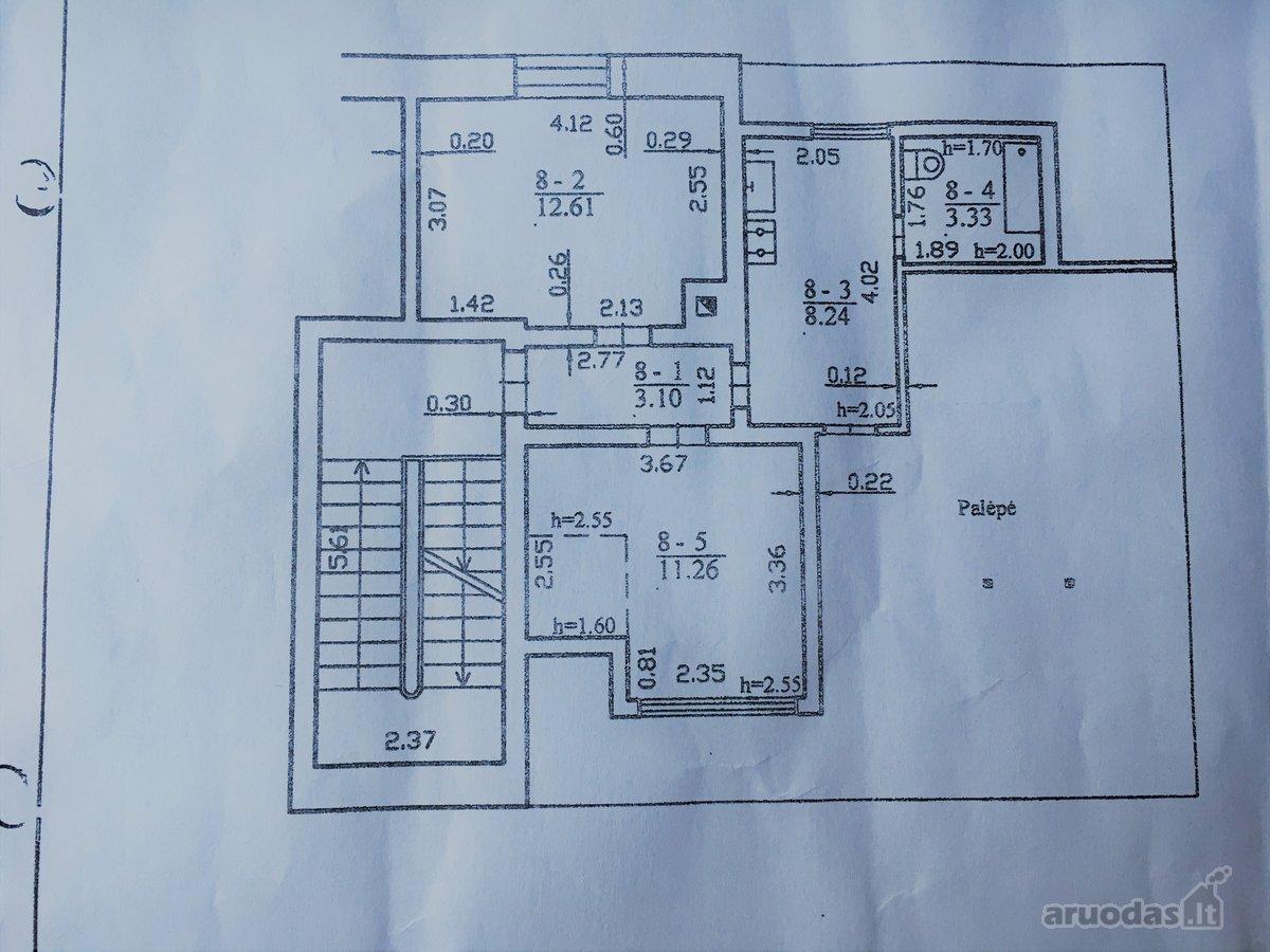 Kaunas, Žaliakalnis, Žemaičių g., 2 kambarių butas